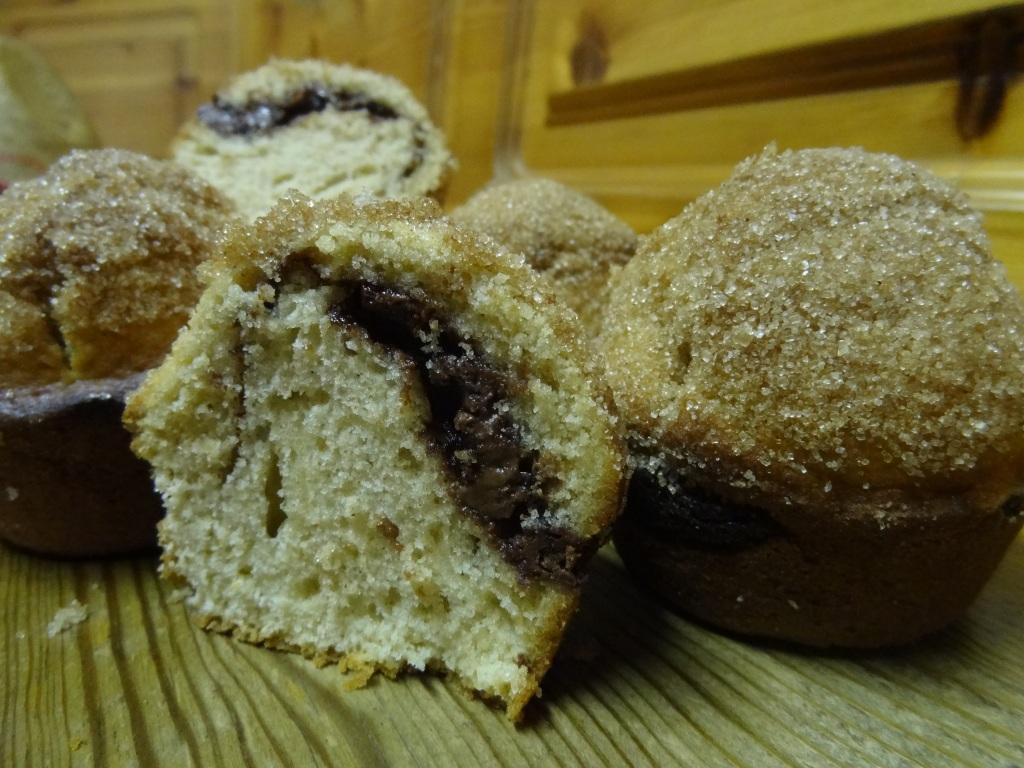 zimtzucker muffins mit nutellaf llung sugarheaven. Black Bedroom Furniture Sets. Home Design Ideas
