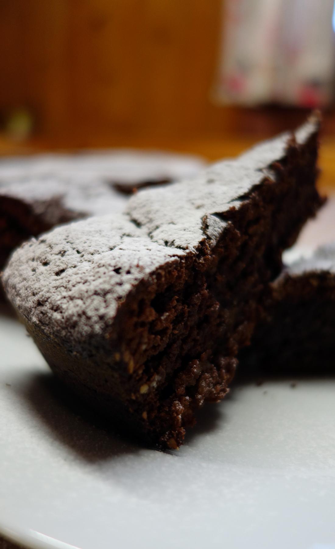 Schoko-Mandel Kuchen – sugarheaven